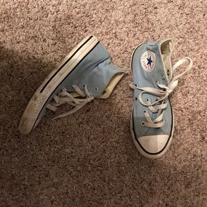 Converse high top sneakers shoes size 1